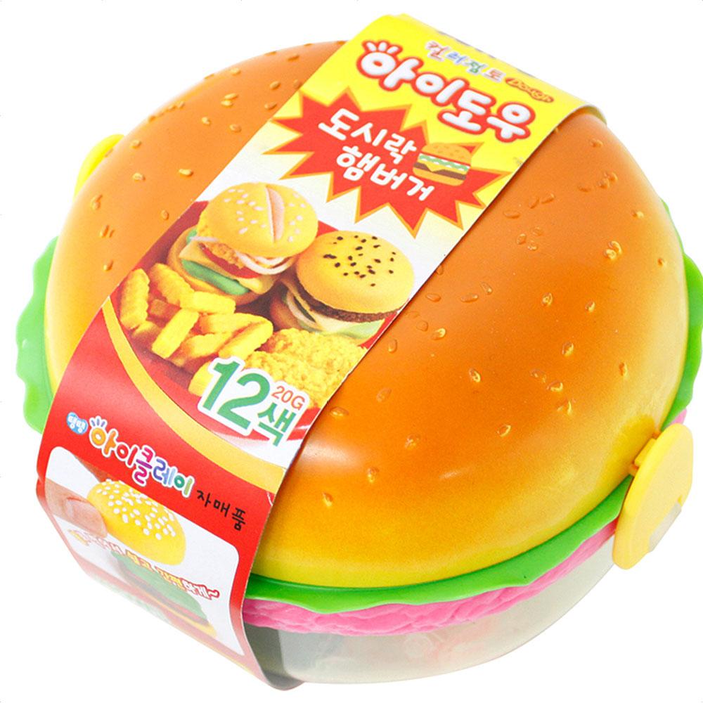 [아모스] 아이도우 도시락 햄버거 12색